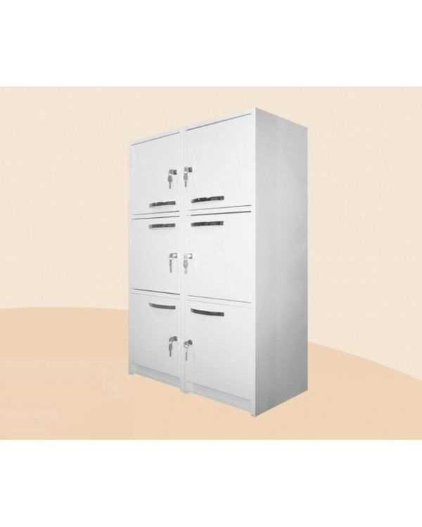 Шмк-3р - шкаф металлический (картотека) с распашными дверцами с замками 1000 мм