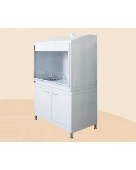 ШВ - шкаф лабораторный с мойкой и вытяжкой, 1300 мм