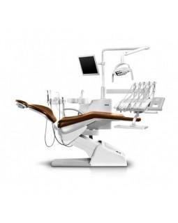 Siger U200 - стоматологическая установка с верхней подачей инструментов, с сенсорной панелью