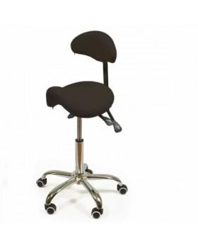 SmartStool S03B - эргономичный стул-седло со спинкой для ровной осанки