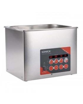 SONICA 3200EP S3 - ультразвуковая мойка с подогревом, функцией вакуумирования и краном для слива жидкости, 6 л