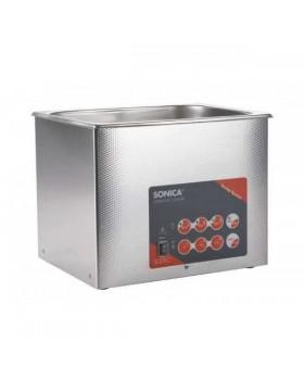 SONICA 3200ETH S3 - ультразвуковая мойка с подогревом и краном для слива жидкости, 6 л
