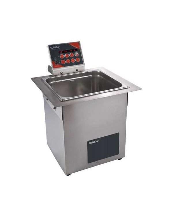SONICA 4200EP S3 - ультразвуковая мойка с подогревом, функцией вакуумирования и краном для слива жидкости, 14 л