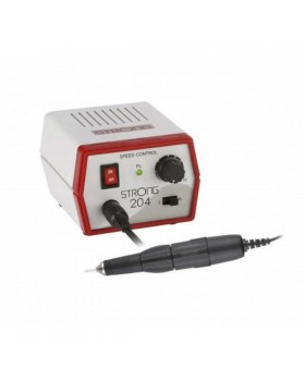 Strong 204/102L - щеточный микромотор с наконечником 102L, 35000 об/мин