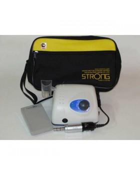 STRONG 210 - щеточный микромотор с наконечником 108NE (терапевтический), педаль включения-выключения, 40000 об/мин