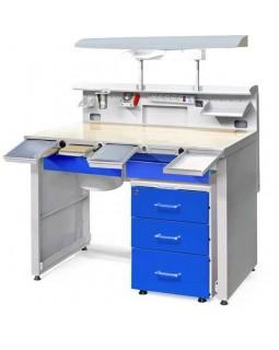 СЗТ 4.3 МАСТЕР ТЕХНО - стол зубного техника максимальной комплектации