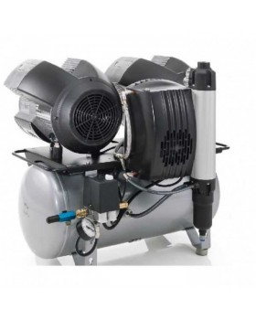 Tornado 4 - безмасляный компрессор четырехцилиндровый, c осушителем, 220 л/мин