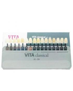 Цветовая шкала Вита для подбора оттенков зубов - набор расцветки Vita classical A1-D4