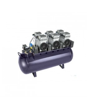 TY W-1 (ND-300) - безмасляный компрессор для 4-х стоматологических установок, с ресивером 90 л (300 л/мин)