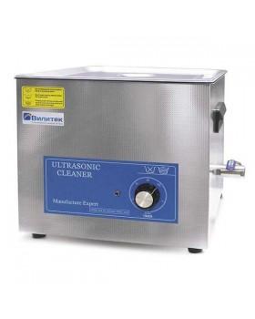 VBS-1 - cтандартная ультразвуковая ванна с механическим таймером, без подогрева 1,3 л