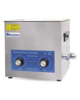 VBS-3H - стандартная ультразвуковая ванна с механическим таймером и подогревом с аналоговым управлением, 3 л