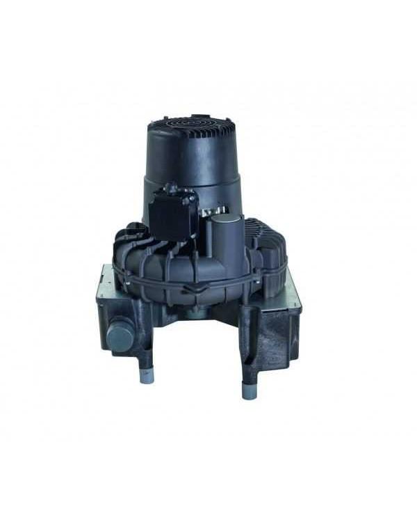 VS 1200 S - вакуумная помпа для 6 стоматологических установок, при единовременной работе 4, без кожуха, влажная аспирация