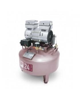 W-601A - безмасляный компрессор для одной стоматологической установки с ресивером 24 л (85 л/мин)