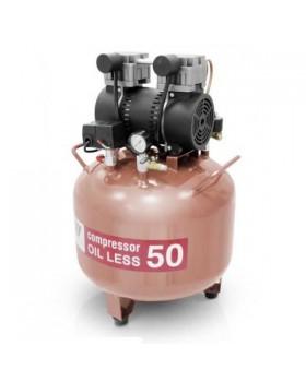 W-602A - безмасляный компрессор для одной стоматологической установки с ресивером 50 л (100 л/мин)