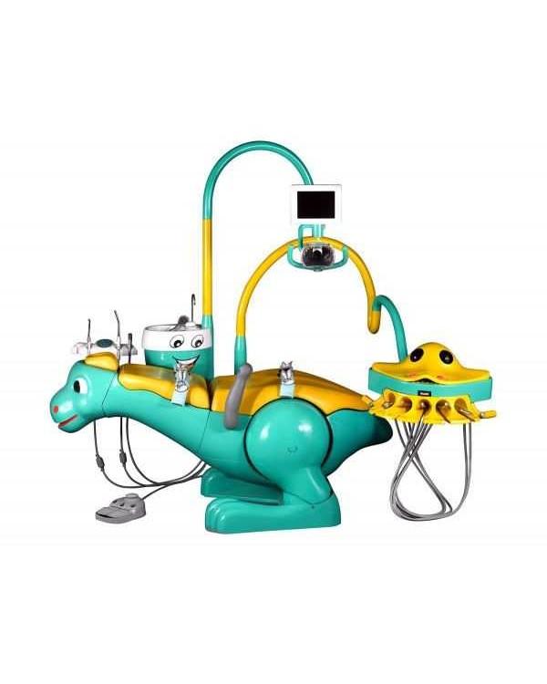 Yoboshi N 3000 - стоматологическая установка детская с нижней подачей инструментов