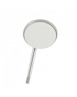 Зеркало без ручки, не увеличивающее, диаметр 22 мм ( №4 ), 12 штук