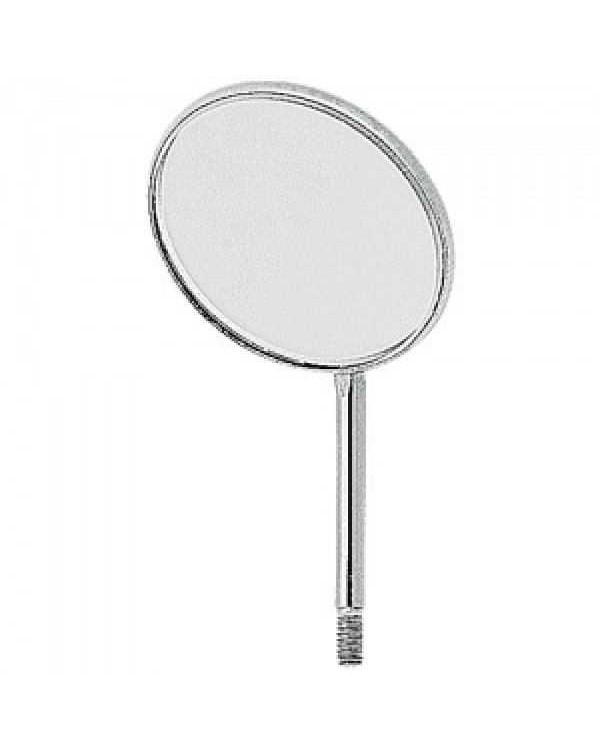 Зеркало без ручки, не увеличивающее, с родиевым покрытием, с технологией Top Vision, диаметр 24 мм, 1 штука