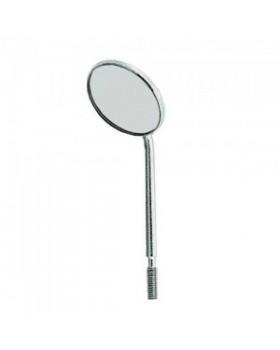 Зеркало без ручки увеличивающее на удлиненной ножке, диаметр 24 мм, 1 штука
