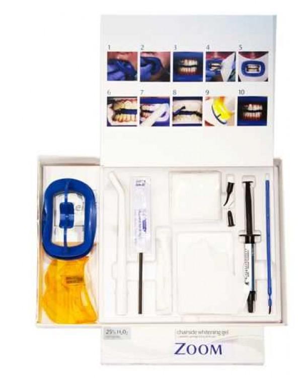 Zoom CH Single Kit - одинарный набор для отбеливания с улучшенным гелем (для 1 пациента)