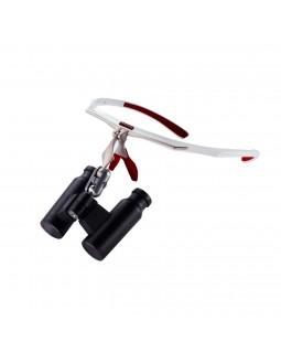 Air-X - бинокулярные лупы системы Flip-up, рабочее расстояние 300-500 мм, увеличение 2.5x/3.5x/4.5x/6.0x