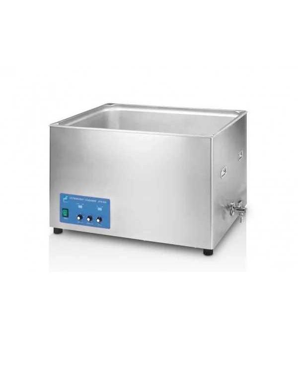 BTX-600 40L P- ультразвуковая мойка с режимом частотной модуляции и краном для слива воды, корпус из нержавеющей стали, 40 л