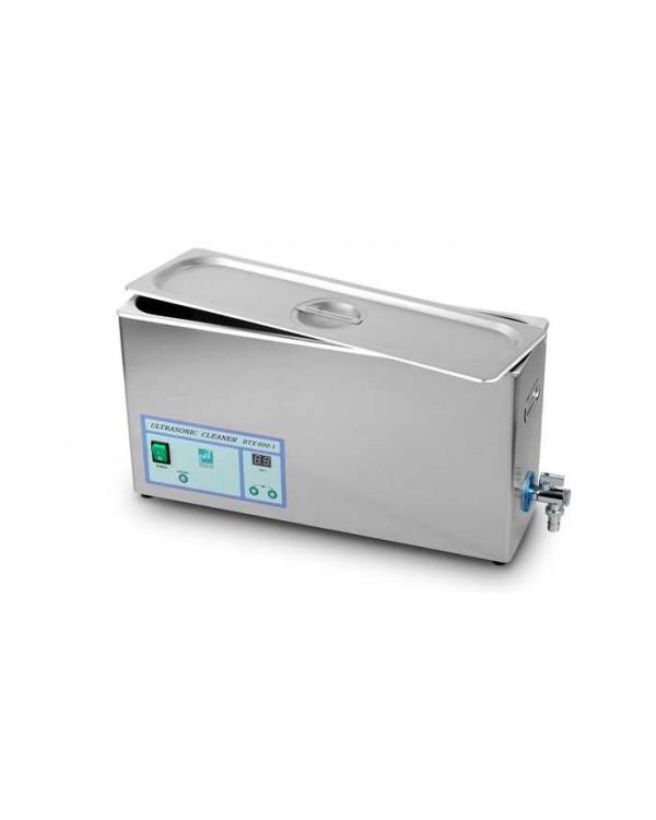 BTX-600 7L - ультразвуковая мойка с краном для слива воды, корпус из нержавеющей стали, 7 л