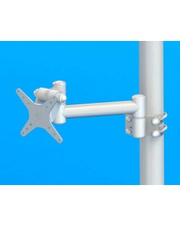 DS-1-30-180 - кронштейн для стоматологической установки, длина 250 мм, провода снаружи