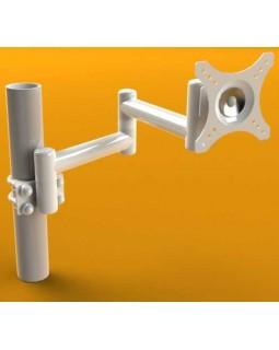 DS-2-30-180 - кронштейн для стоматологической установки, длина 450 мм, провода снаружи