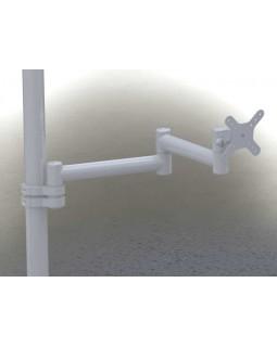 DS-2-40-250 - кронштейн для стоматологической установки, длина 525 мм, провода снаружи