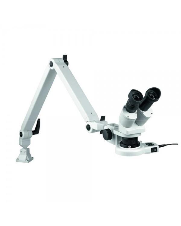 Eschenbach 33263 - стереомикроскоп с пружинным рычагом и LED-подсветкой