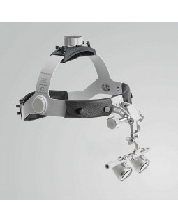 Heine HR 2,5x Set C - бинокулярные лупы с увеличением 2,5x и креплением на шлеме, без защитного щитка