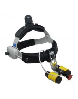HL8200 - беспроводной налобный светодиодный осветитель в комплекте с бинокулярными лупами SLH