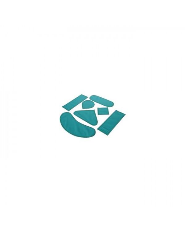 КПРЗ7-«Р-К» - комплект рентгенозащитных пластин №1 (7 элементов), для пациента
