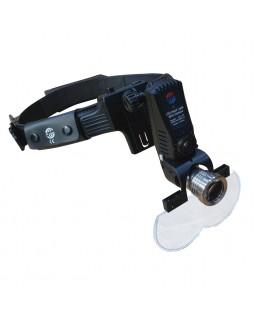 KS-07 - осветитель с встроенной батареей и видеокамерой, 55000 люкс