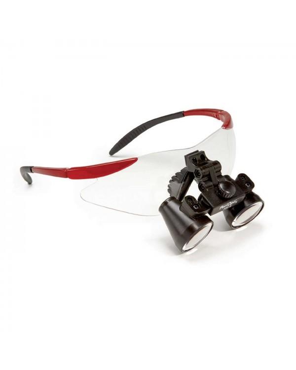PeriOptix Rimz FLIP-UP - универсальные бинокулярные лупы на спортивной оправе, увеличение 2.5x/3.0x/3.5x