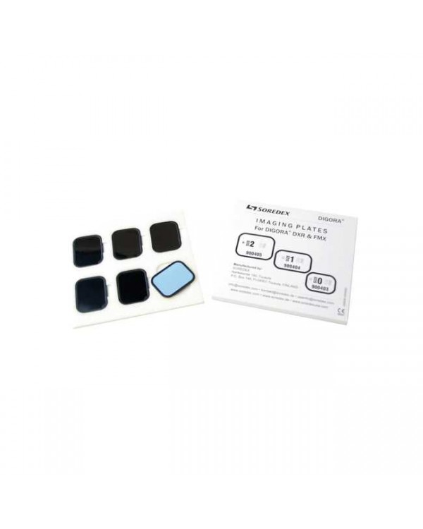 Пластины для Digora FMX №0, 6 штук