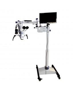 Vision 5 plus - дентальный операционный микроскоп с 5-ти ступенчатым увеличением и HD-видеофиксацией