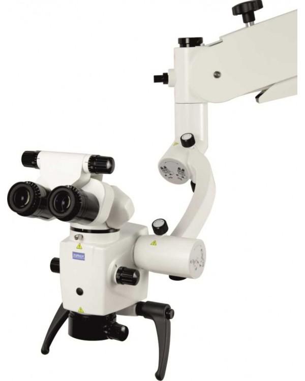 Zumax OMS 2350 - дентальный эндодонтический бинокулярный микроскоп со светодиодной подсветкой и шестиступенчатой регулировкой увеличения