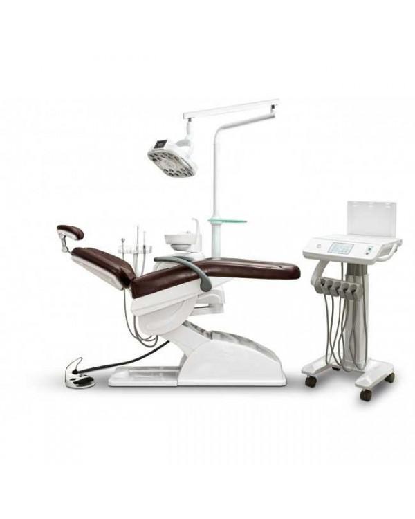 AY-A 3000 IMPLA - стоматологическая установка с нижней подачей инструментов и подкатным столом врача