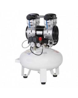 Remeza КМ-24.OLD15 - безмасляный компрессор для одной стоматологической установки, без осушителя, с ресивером 24 л, 135 л/мин